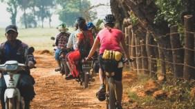 Traffic in Myanmar
