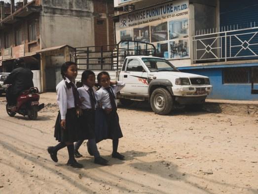 Školačky, Kathmandu
