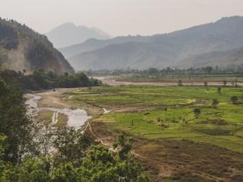Míříme do Biduru, severně od Kathmandu