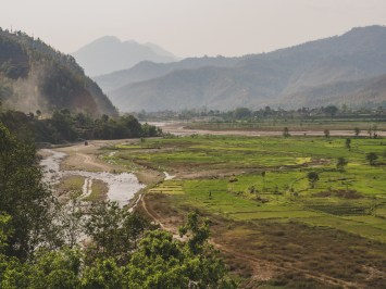 Heading to Bidur, North of Kathmandu