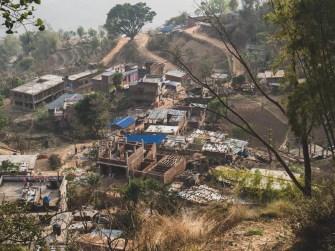 Gorkha under reconstruction, Gorkha