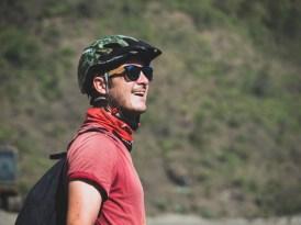 Stoked Gary by the views. Tatopani, Nepal