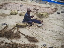 A Basket weaver. Ghasa, Nepal