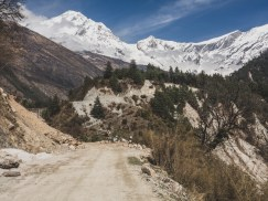 Views of Lower Mustang Valley. Ghasa, Nepal