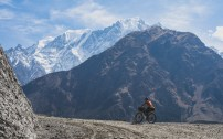 Daška a Nilgiri North. Ghasa, Nepal