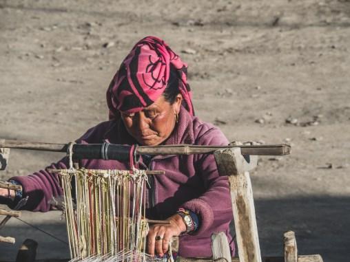 Tkadlena. Muktinath, Nepál