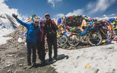 We did it! Thorong La, Nepal