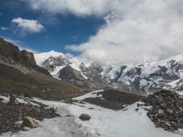 Getting Cloudy. Thorong La, Nepal