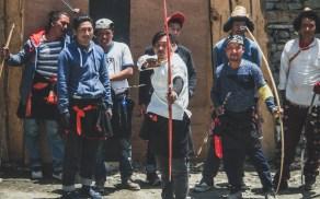 Festival lukostřelby, Khangsar, Nepál