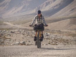 Getting higher. Jelondy, Pamir, Tajikistan.