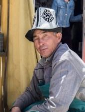 Kyrgyzský obchodník. Murghab, Tádžikistán
