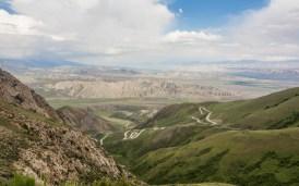 Housenková dráha. Kok-Djar, Kyrgyzstán
