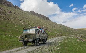 Family trip. Tosor Pass Area, Kyrgyzstan