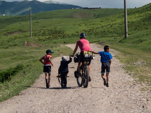 Last Kyrgyz village, Kyrgyzstan