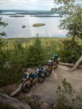 Typické finské prostředí. Národní park Koli, FInsko