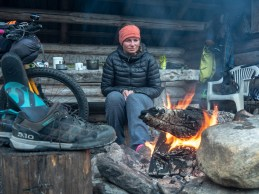One camp fire can change the worst day into the best one. Finland