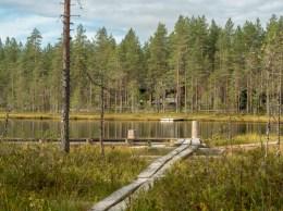 A lake. Kangaslahti, Finland