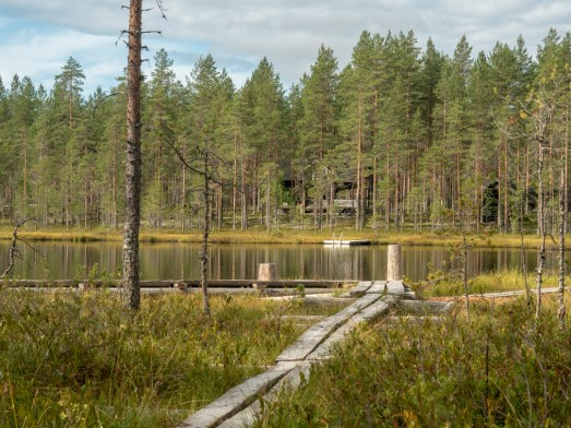 Jezírko. Kangaslahti, Finsko