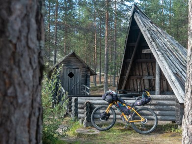 The Laavu. Rokua National Park, Finland