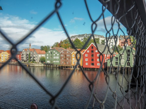 Colours of Trondheim. Trondheim, Norway