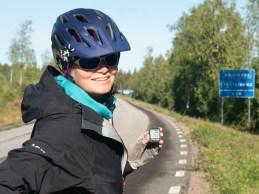 12000km. Vittangi, Švédsko