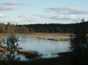 Připomínka Finska. Vittangi, Švédsko