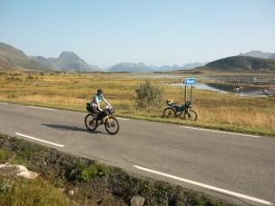 Out of main road. Vestvågoya, Norway