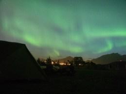 Aurora Borealis. Leknes, Norway