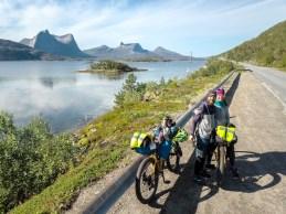 Dronie. Efjorden, Norsko