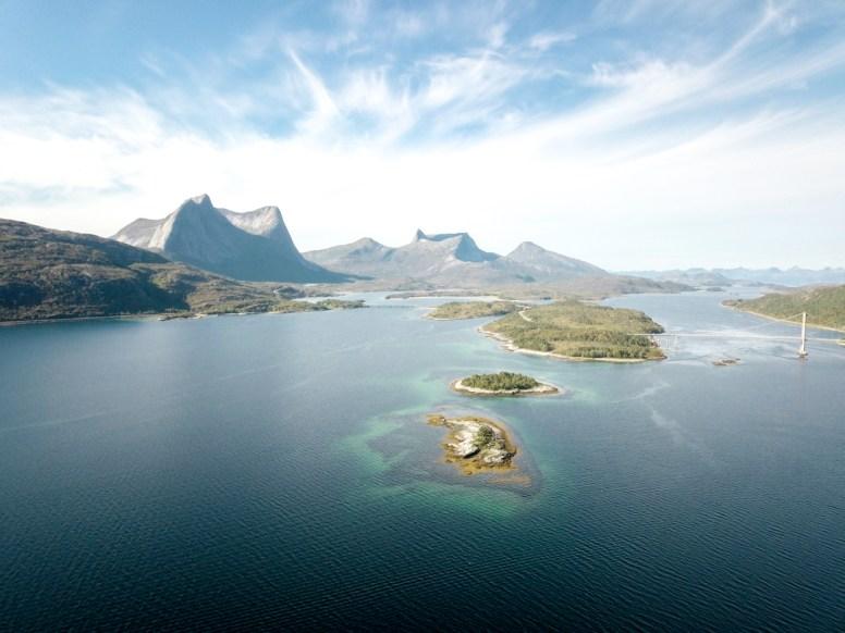 Efjord. Efjord, Norsko