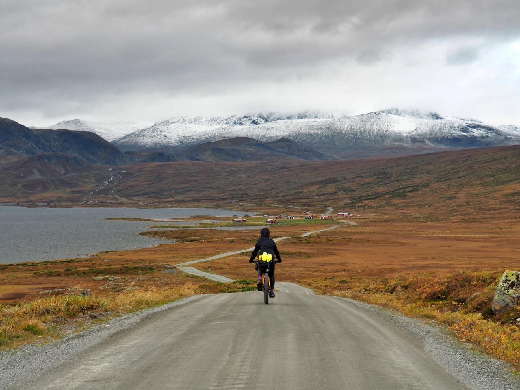 Od 1 200 m nad mořem leží 30 cm nového sněhu. Vítejte v norském vnitrozemí.