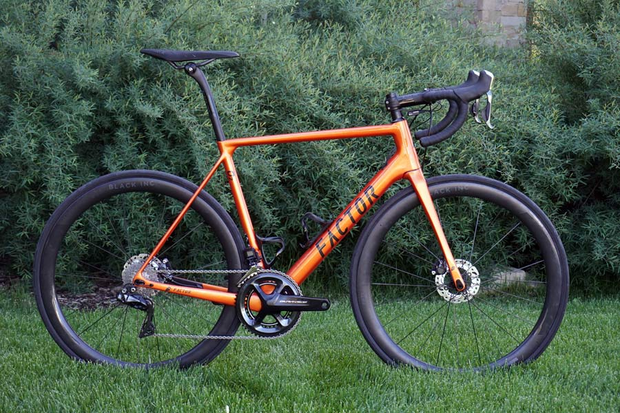 PC17  Factor O2 Disc race bike added to lineup 467003c83