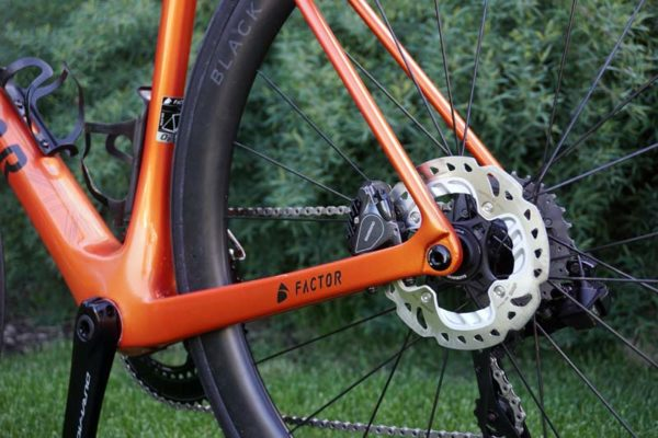 Factor O2 Disc brake road race bike