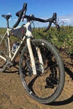 Lauf Grit SL carbon leaf spring 30mm lightweight gravel road bike suspension gravel fork front 3/4