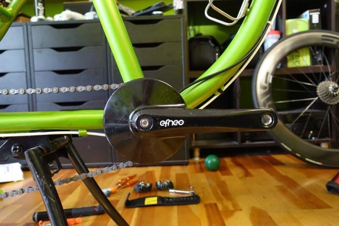 Efneo GTRO 3-speed internal gearbox crankset review