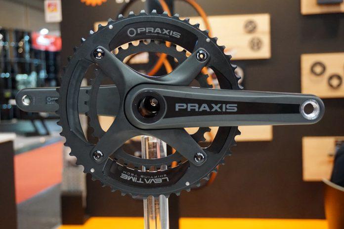 2018 Praxis Zayante X four-arm crankset