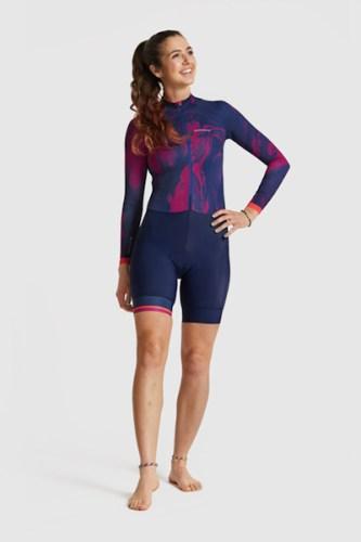 Peppermint clothing 2018, long sleeve skinsuit