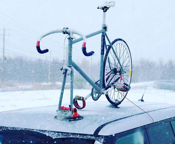 latest vacuum sealed bike rack