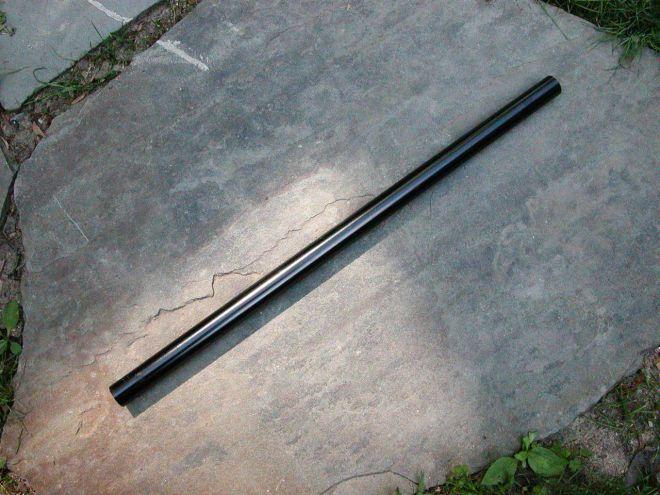 (1) 18 x .625 aluminum tent pole without insert