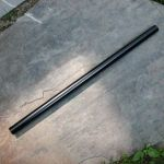 (1) 18 x .625 aluminum tent pole without insert