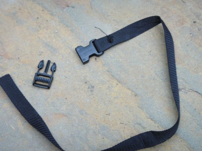 """(4) buckles and 25 ft. of 1/2"""" webbing"""
