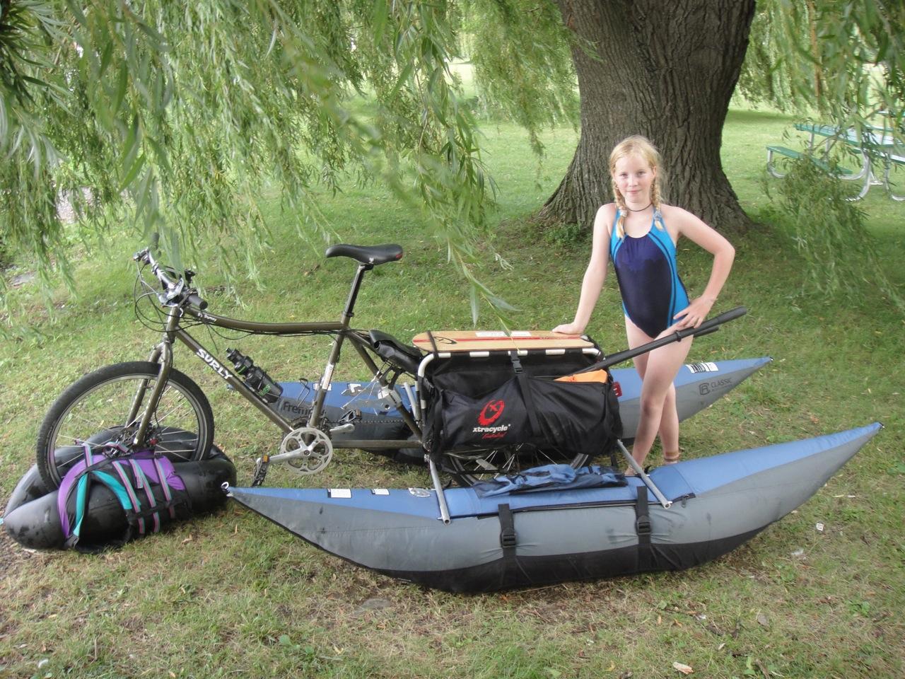 Aqua Xtracycle The Amphibious Bicycle Bikes As