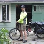 biking mode: the bike carries the boat