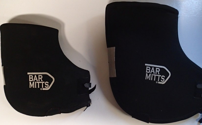 Bar Mitts vs Bar Mitts Extreme size