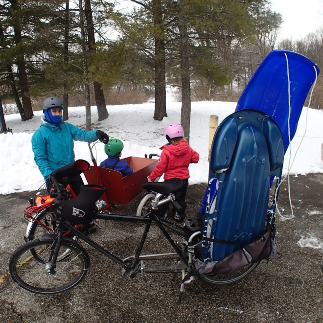 Bike To Sled