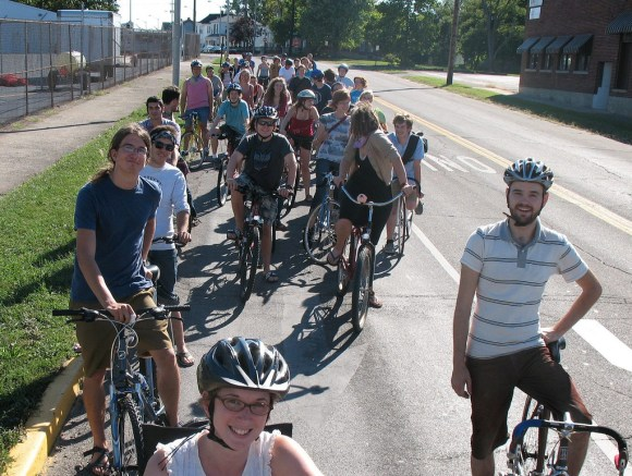 Critical Mass, Richmond, Indiana, August 2007