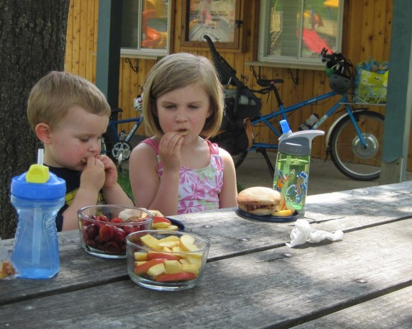 Lunch at the park
