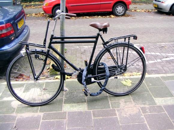 Serious Dutch bike