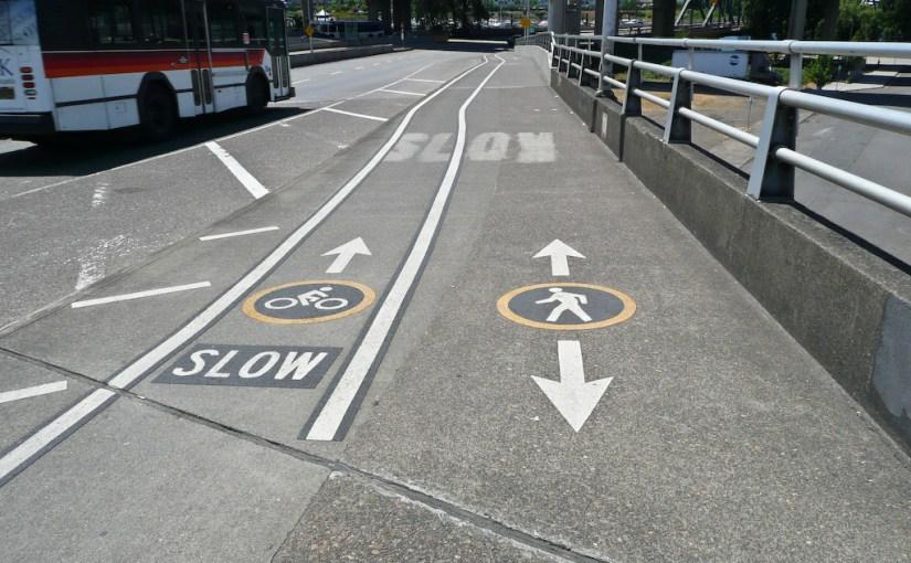 Sidewalk lanes