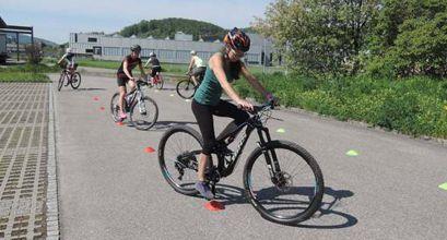 Mountainbike Fahrtechnikkurse mit der Bikeschule Olten